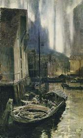 Константин КОРОВИН Гаммерфест. Северное сияние 1894—1895