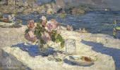 Константин КОРОВИН На берегу моря. 1910
