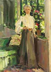 Портрет Г.Л. Теляковской. 1905