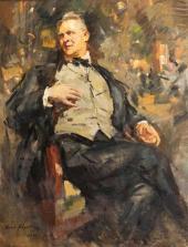 Портрет Ф.И. Шаляпина. 1921