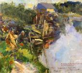 Рыбаки. 1914
