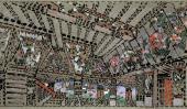 К.А. КОРОВИН. Палаты у воеводы Додона. Эскиз декорации I действия оперы