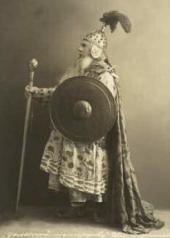 В.В. Осипов в роли царя Додона Постановка оперы в Большом театре (1909)