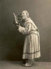А.П. Боначич в роли Звездочета. Постановка оперы в Большом театре (1909)