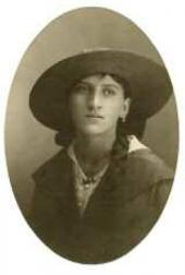 А.К. Крайтор, сестра И.К. Крайтора. 1910-е