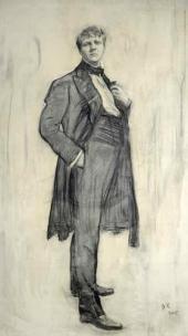 Портрет Ф.И. Шаляпина. 1905