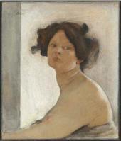 Натурщица. 1904