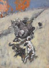 Боярин на охоте. 1890-e
