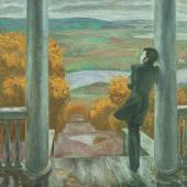 Осенние дожди. Пушкин. 1974