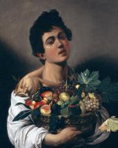 Юноша с корзиной фруктов. 1591