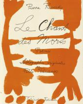 Титульный лист из книги Pierre Reverdy. Le Chant des morts [Песнь мертвых]. 1948