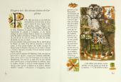 Разворот из книги François Rabelais. Gargantua [Гаргантюа]