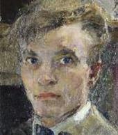 Автопортрет. 1920 (?). Фрагмент