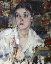 Портрет Александры Никифоровны Фешиной. 1927–1933