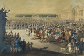 Ф. МАЛЕК. Вступление союзных войск в Париж 19/31 марта 1814 года. 1815