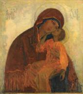 БОГОМАТЕРЬ УМИЛЕНИЕ. 1909. ОБРАЗ ИКОНОСТАСА