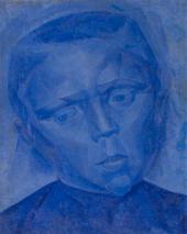 ЕЛЕНА КОНСТАНТИНОВНА ЭВЕНБАХ. 1889–1981. ГОЛОВА МАЛЬЧИКА. 1920