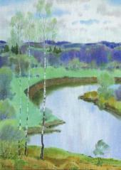 ВЕСНА. ЗЕЛЕНЫЙ ДЕНЬ. 2004