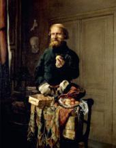 Валерий ЯКОБИ. Разносчик. 1858