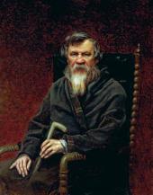 В.Г. ПЕРОВ. Портрет М.П. Погодина. 1872