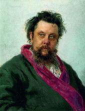 И.E. РЕПИН. Портрет М.П. Мусоргского. 1881