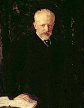 Н.Д. КУЗНЕЦОВ. Портрет Петра Ильича Чайковского. 1893