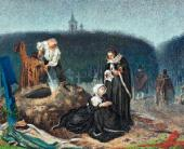Александр БЕЙДЕМАН (Бейдеманн). На кладбище Начало 1860-х