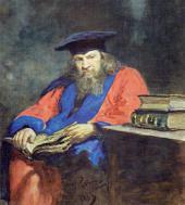 И.E. РЕПИН. Портрет Д.И. Менделеева. 1885