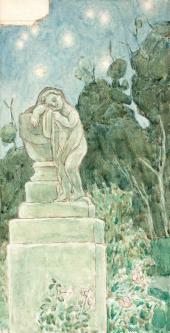 Виктор БОРИСОВ- МУСАТОВ. Сон божества. 1904–1905