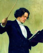 И.Е. РЕПИН. Портрет композитора А.Г. Рубинштейна. 1887