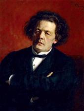 И.Е. РЕПИН. Портрет композитора А.Г. Рубинштейна. 1881