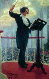 И.Е. РЕПИН. Портрет композитора А.Г. Рубинштейна. 1909–1915