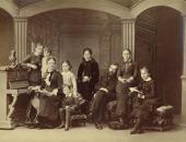 Семья Третьяковых. 1884