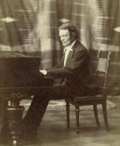 Антон Григорьевич Рубинштейн. Фотография. [1880-e]