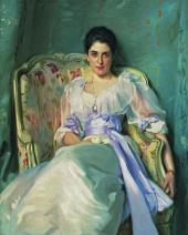 ДЖОН СИНГЕР САРДЖЕНТ. ЛЕДИ АГНЮ ДЕ ЛОКНО. 1892