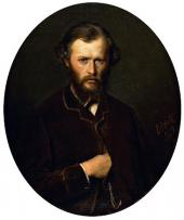 Василий ПЕРОВ. Портрет Николая Ланина. 1869