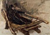 Василий СУРИКОВ. Этюд к картине «Боярыня Морозова». 1884