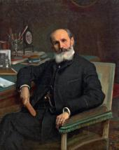 Иван КРАМСКОЙ. Портрет Павла Ковалевского. 1886