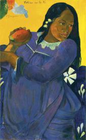ПОЛЬ ГОГЕН. VAHINE NO TE VI (ЖЕНЩИНА С ПЛОДОМ МАНГО). 1892