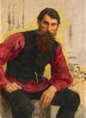 Илья РЕПИН. Ямщик. Этюд. 1911