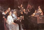 Групповой семейный портрет. 1837