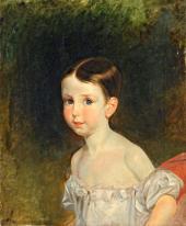 Портрет графини Витгенштейн в детстве. 1830-е