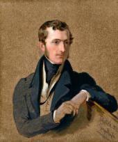 Джордж ХЕЙТЕР. Филип Стэнхоуп, 5-й Лорд Стэнхоуп. 1834
