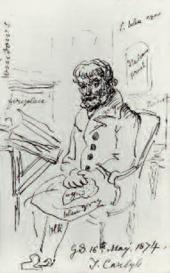 Джордж ШАРФ. Томас Карлайл. 1874