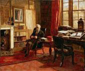 Эдвард Мэтью УОРД. Томас Бабингтон Маколей, барон Маколей. 1853