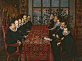 Неизвестный художник. Переговоры в Сомерсет Хаус, 1604