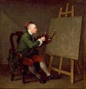 Уильям ХОГАРТ. Автопортрет. 1758