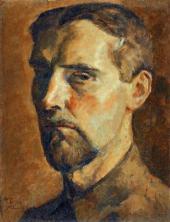 Н.М. ЧЕРНЫШЕВ. Автопортрет. 1922