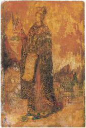 СВ. ЕКАТЕРИНА.  Икона. 1908–1910