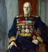 П.Д. КОРИН. ПОРТРЕТ Г.К. ЖУКОВА. 1945